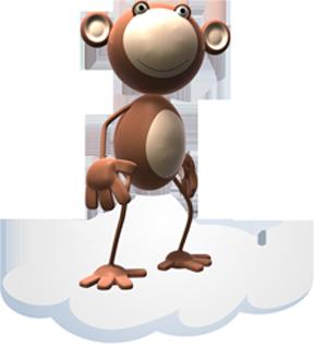 Munkey on a cloud